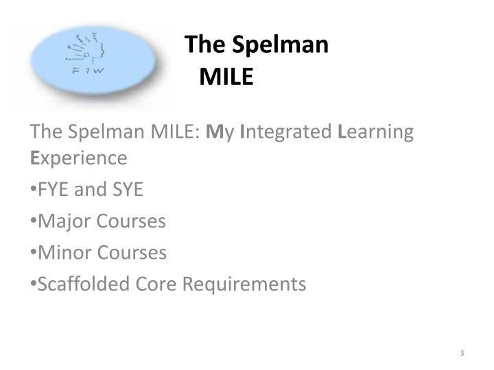 The spelman mile