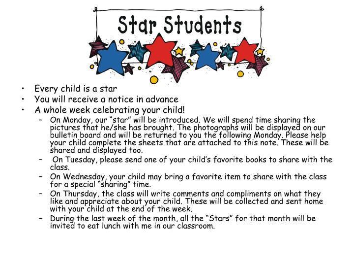 Every child is a star