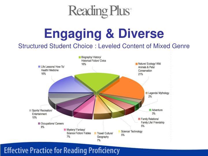 Engaging & Diverse