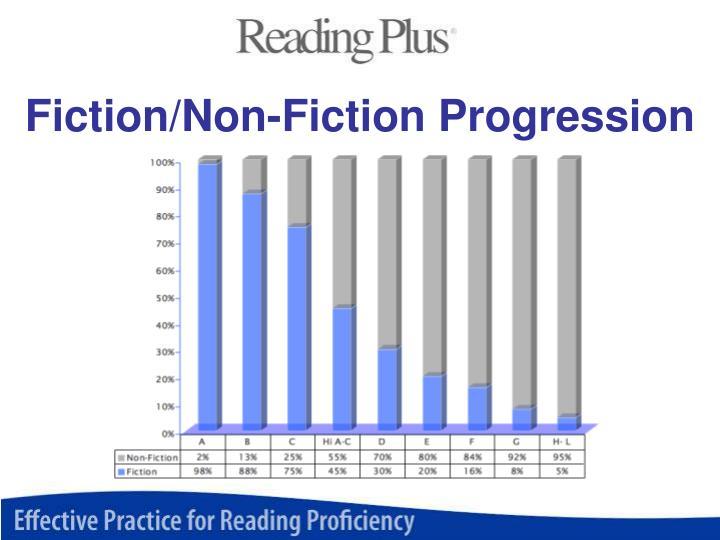 Fiction/Non-Fiction Progression