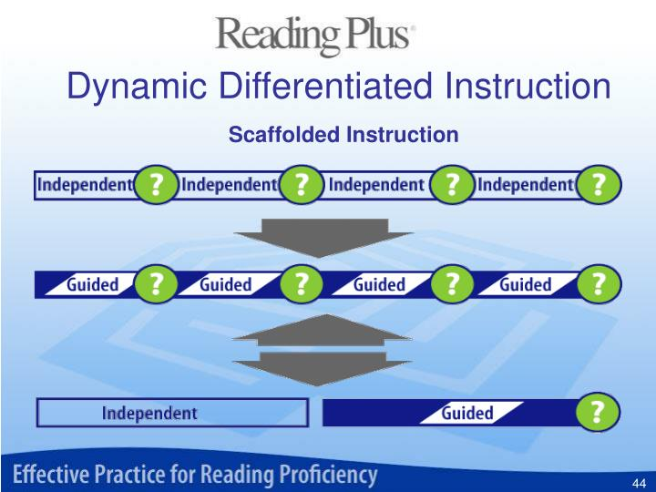 Dynamic Differentiated Instruction