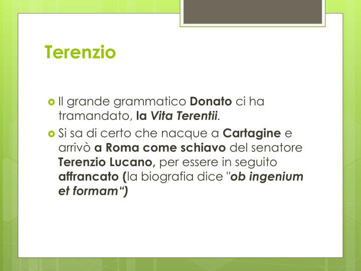 Terenzio