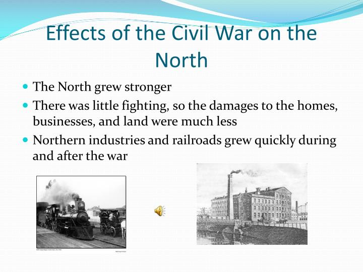 Effects of the Civil War on the North