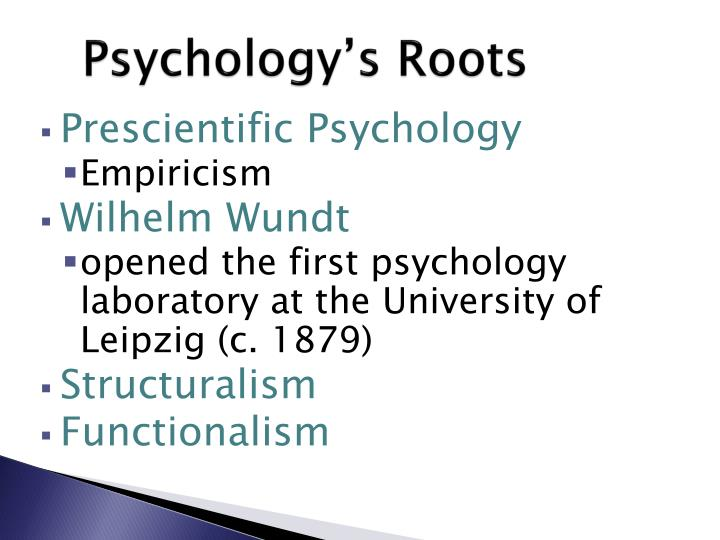 Psychology s roots1