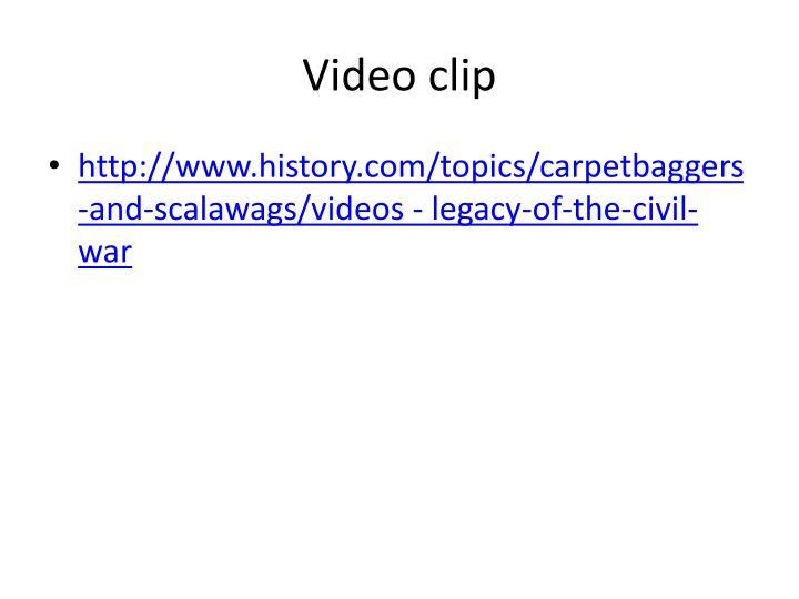 Video clip
