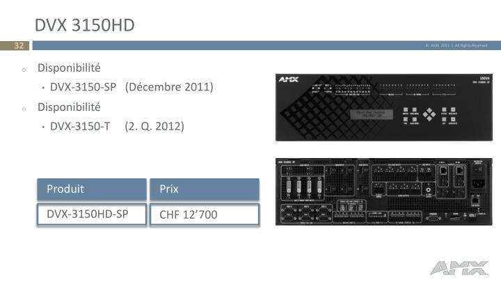 DVX 3150HD