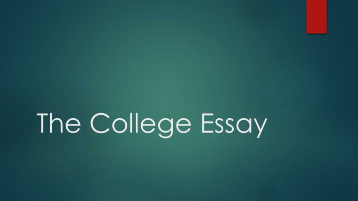 experience college essays The college essay matters an experience that shaped you or the reason you want to attend a certain try these tips to craft your college application essay.
