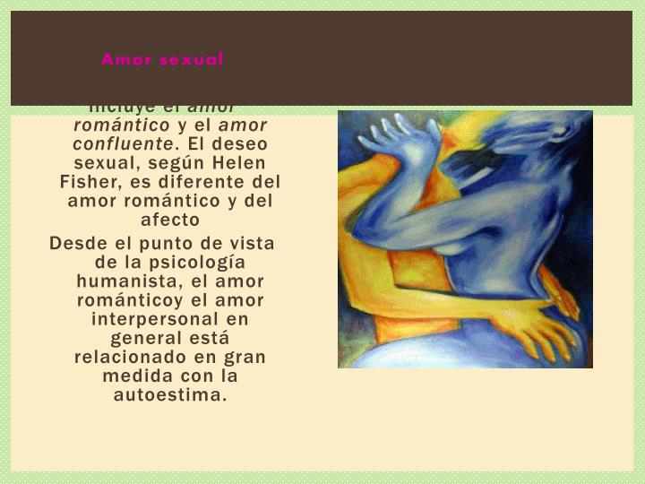 Amor sexual