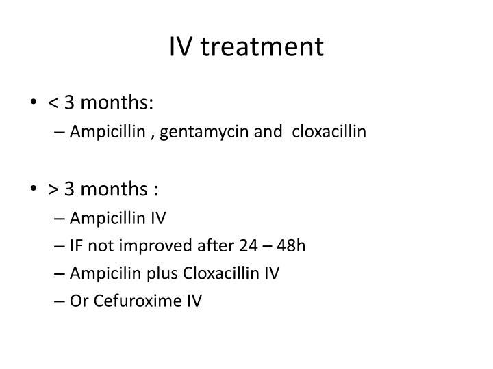 IV treatment