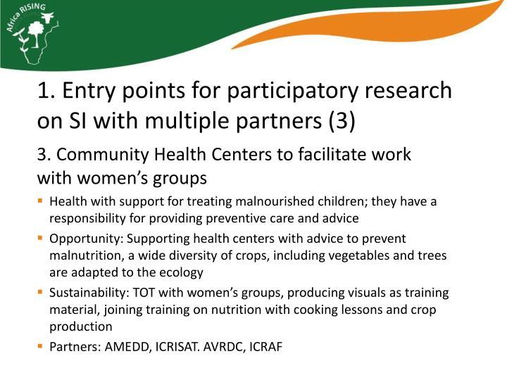 3. Community Health
