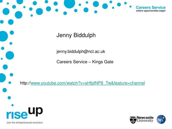 Jenny Biddulph