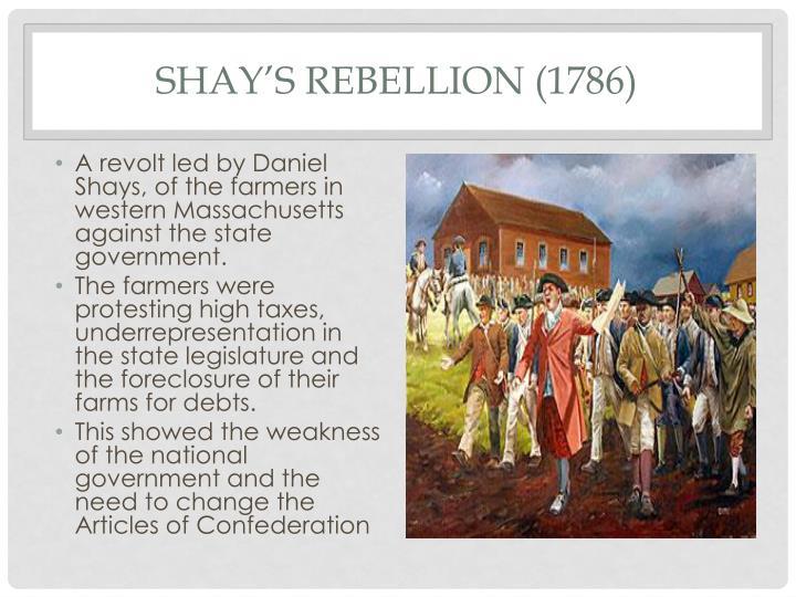 Shay's Rebellion (1786)