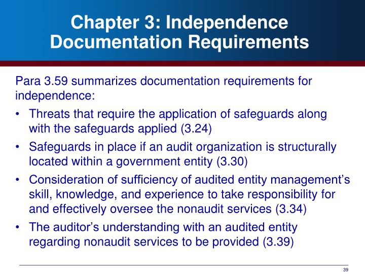 safeguard of auditor independence
