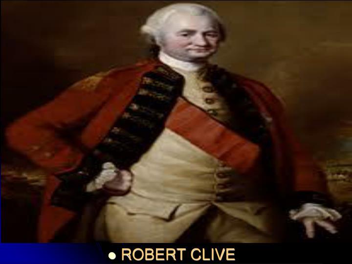 ROBERT CLIVE