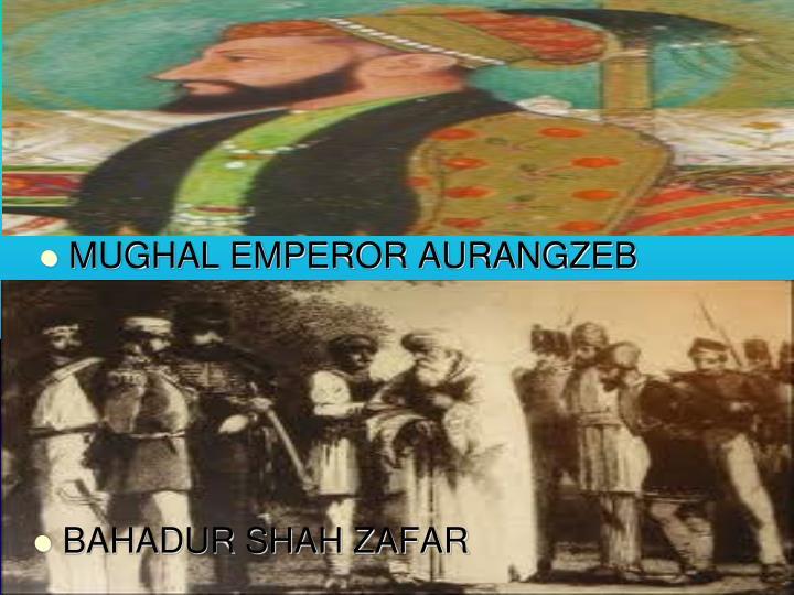 MUGHAL EMPEROR AURANGZEB