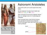astronomi aristoteles