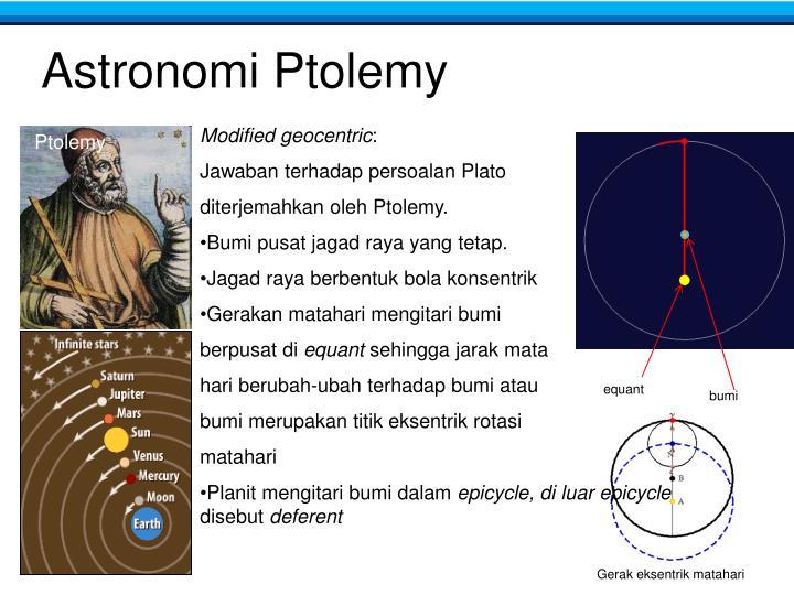 Astronomi Ptolemy