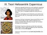 iii teori heliosentrik copernicus