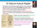 iv hukum hukum kepler
