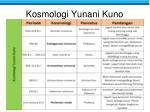 kosmologi yunani kuno