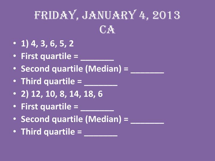 Friday, January 4, 2013