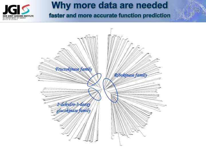 Why more data are needed