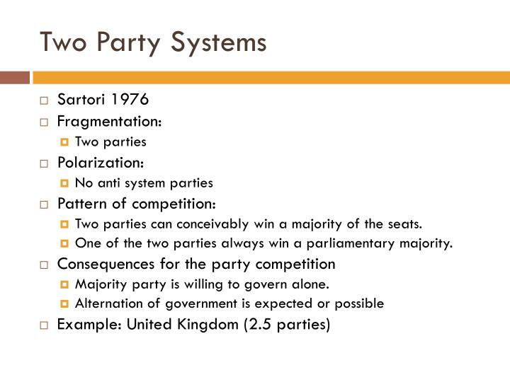 Two Party Systems