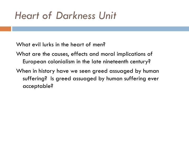 Heart of Darkness Unit