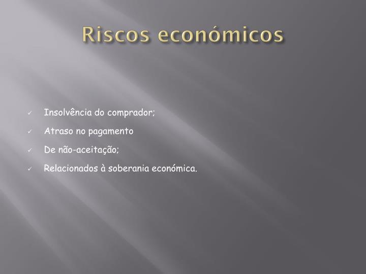 Riscos económicos