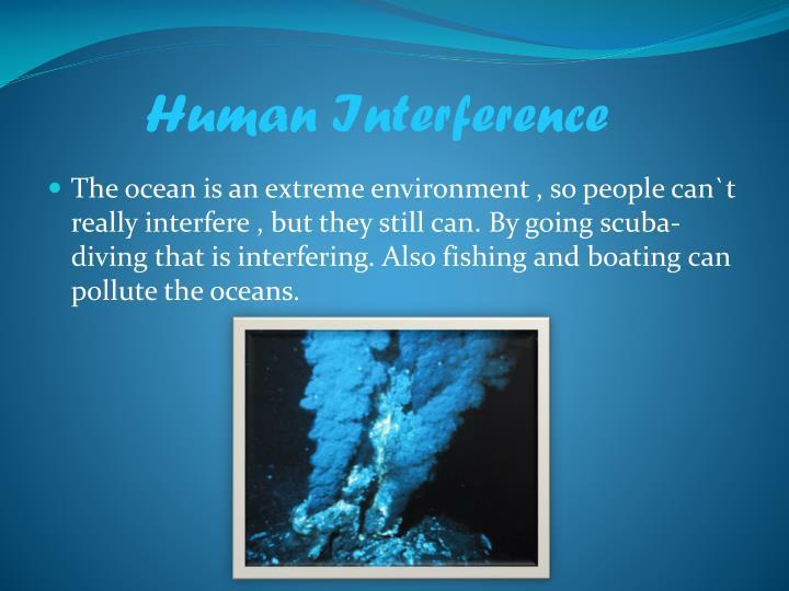 Human Interference