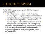 stabilitas suspensi