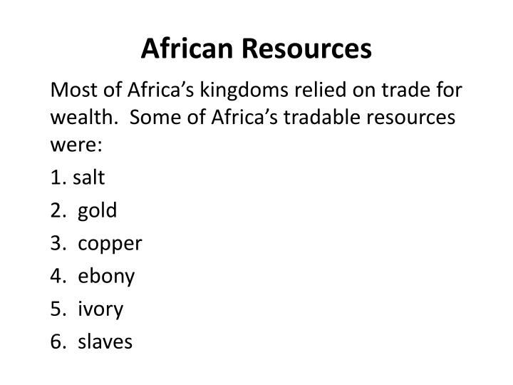 African Resources
