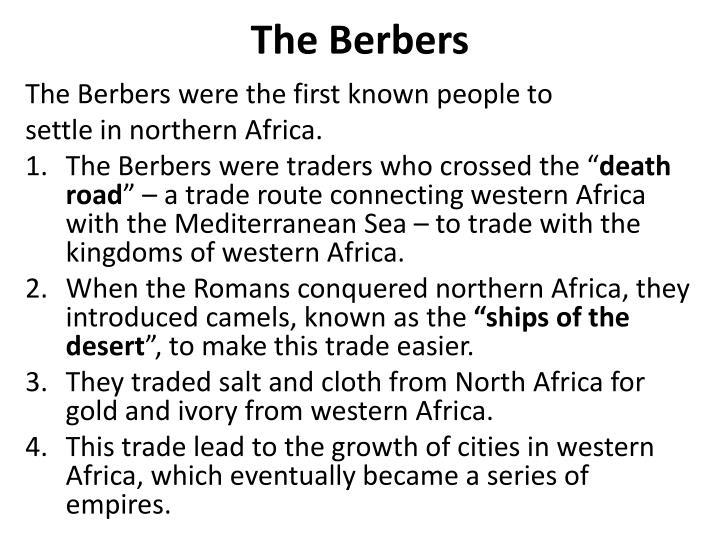 The Berbers