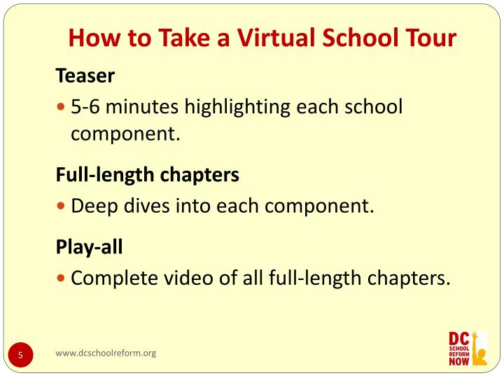 How to Take a Virtual School Tour