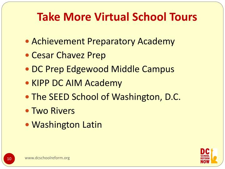 Take More Virtual School Tours