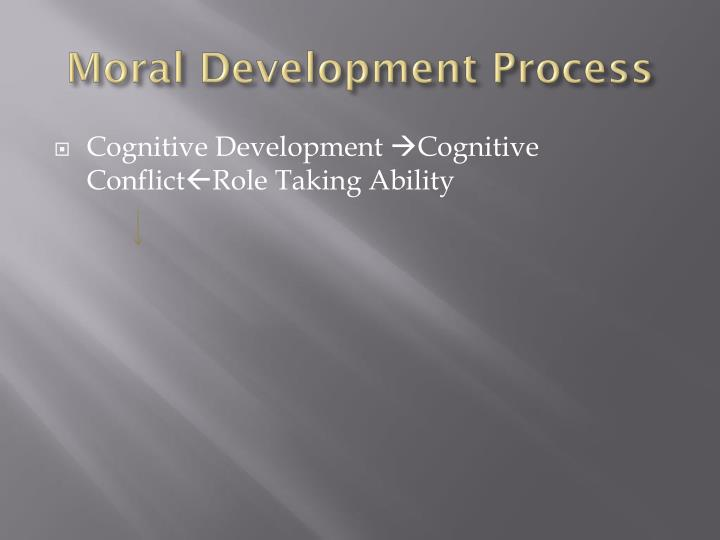 Moral Development Process
