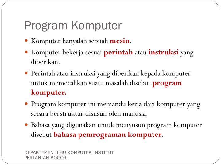 Program Komputer