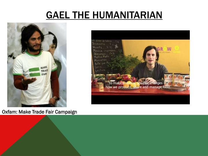 Gael the Humanitarian
