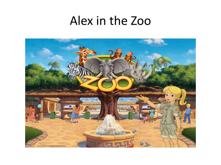 Alex in the zoo