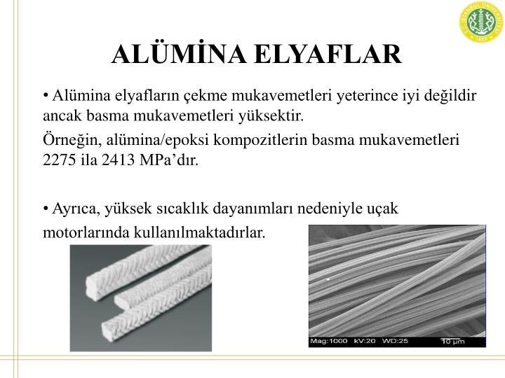 ALÜMİNA ELYAFLAR