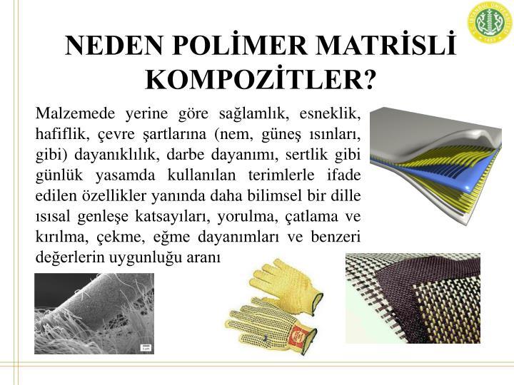 NEDEN POLİMER MATRİSLİ