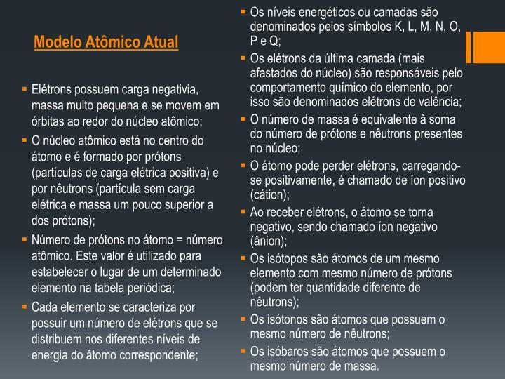 Modelo Atômico Atual