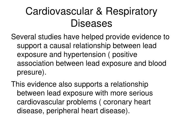 Cardiovascular & Respiratory