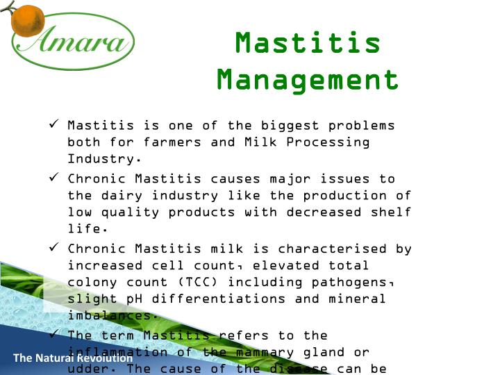 Mastitis Management