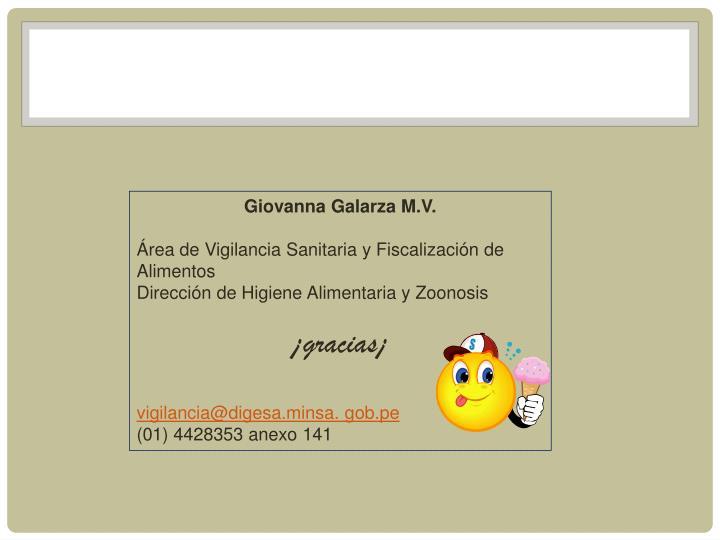 Giovanna Galarza M.V.