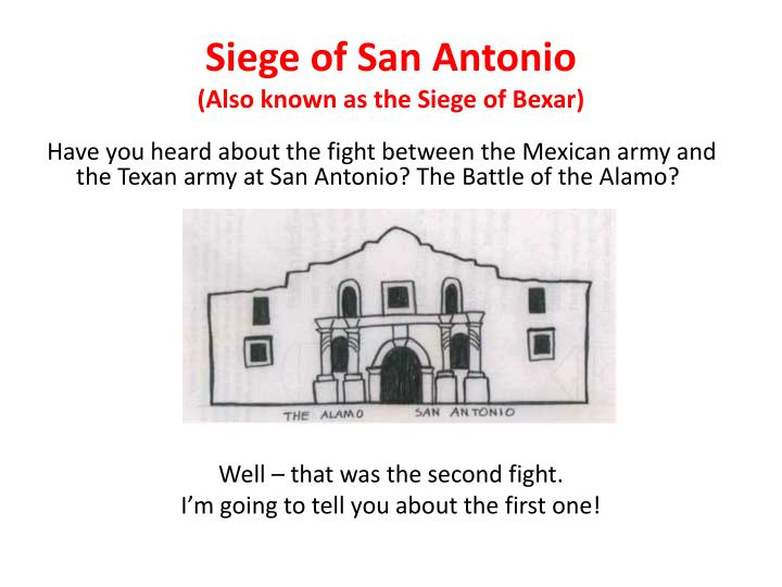 Siege of San Antonio