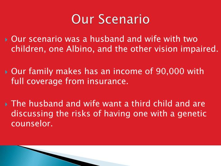 Our Scenario
