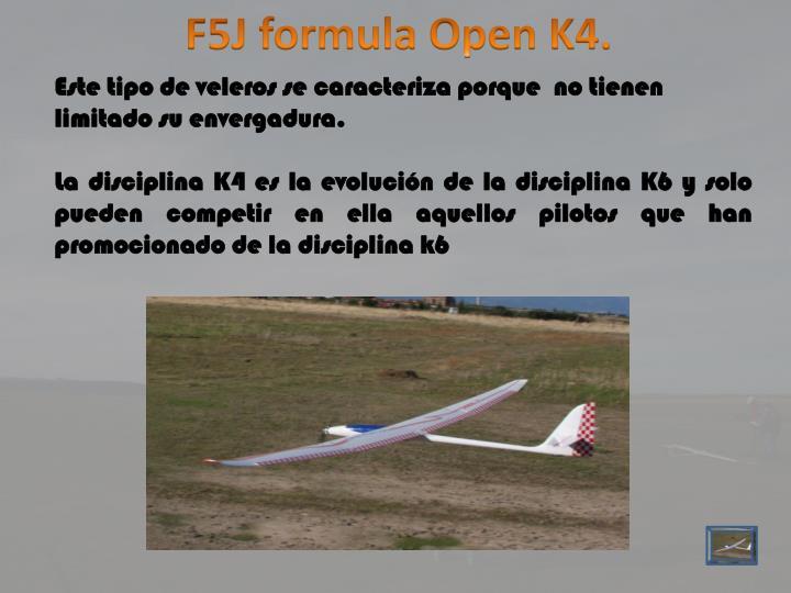 F5J formula Open K4.