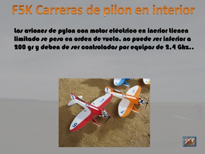F5K Carreras de