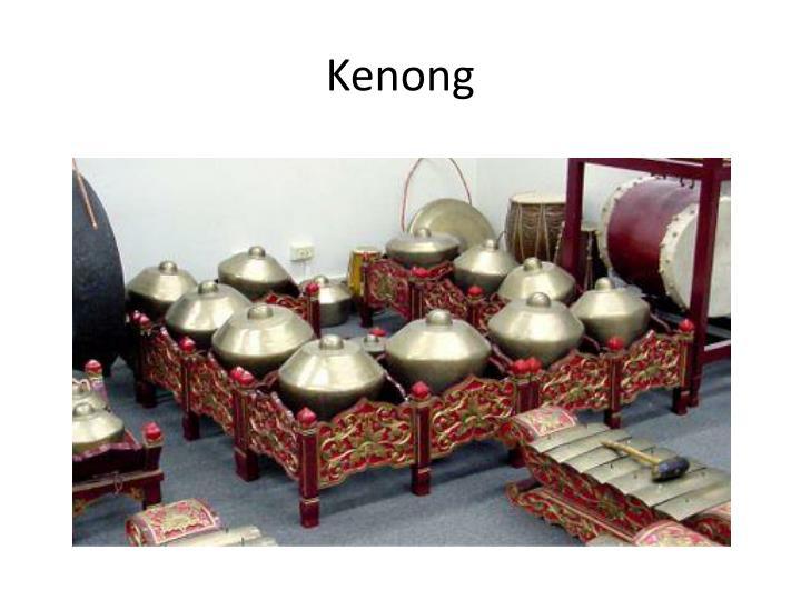 Kenong